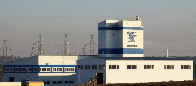 Завод по производству специальных строительных материалов